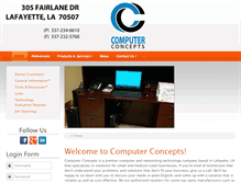 Tablet Preview of computerconcept.net